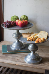 Pedestal Cake Stands - Set of 2