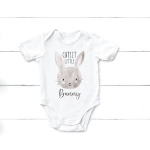 Easter Onesie - Cutest Little Bunny - Happyism, Inc. Engraving