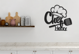 Kitchen Chef Sign - Happyism, Inc. Engraving