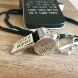Engraved Coach Whistle - Happyism, Inc.