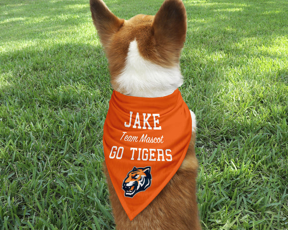 Team Mascot Dog Bandana - Happyism, Inc. Engraving