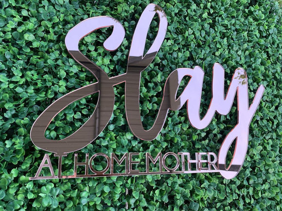 Custom acrylic business name sign