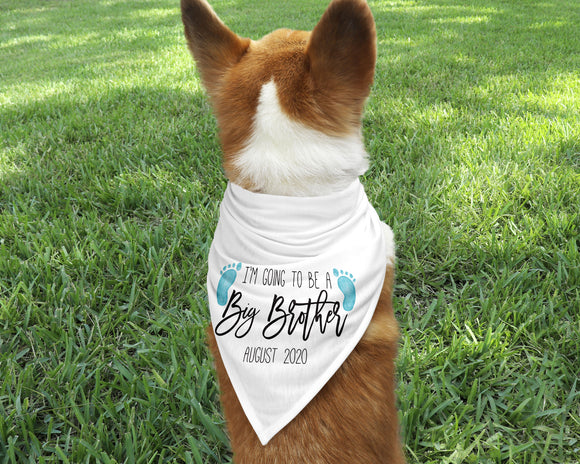 Big Brother Dog Bandana - Happyism, Inc. Engraving