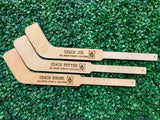 Engraved Coach Hockey Stick - Happyism, Inc. Engraving