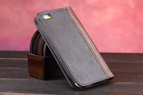 Vintage Leather Journal iPhone Case
