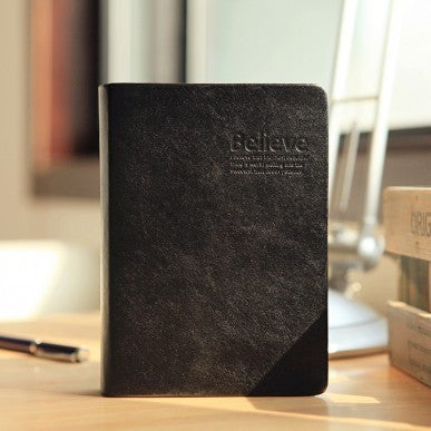 Black Leather Bible Journal