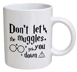Harry Potter - Don't Let the Muggles Get You Down Coffee Cup - Mythical Market