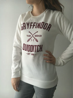Cozy Harry Potter Gryffindor Quidditch Sweatshirt- SOLD OUT - Mythical Market