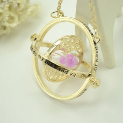 Exquisite Harry Potter Time Turner Hourglass Necklace - Mythical Market