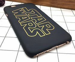 Classic Star Wars Black and Gold iPhone Mobile Case Covers - Mythical Market