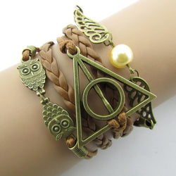 Hand-Woven Harry Potter Vintage Braided Bracelet - Mythical Market