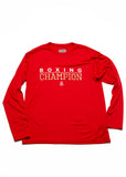 Boxing Champion Long Sleeve - Red