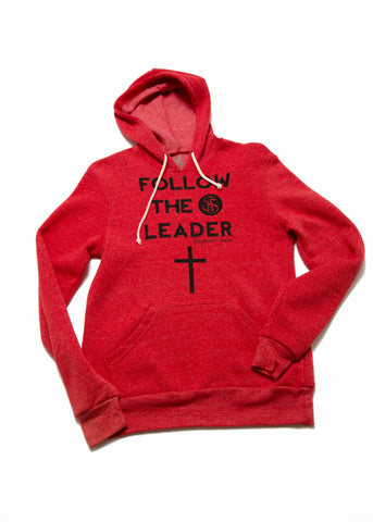 Follow The Leader Hoodie- Red
