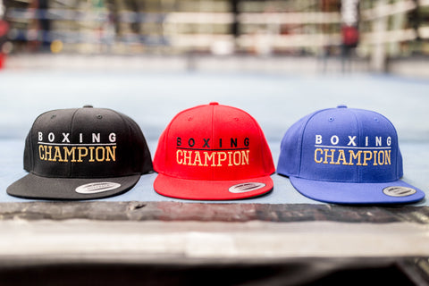 Boxing Champion Hats