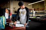 Mikey Garcia classic Logo collaboration with TS