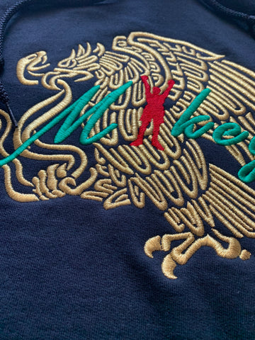 The luxury Limited Mikey Gold Eagle T-shirt