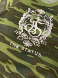 The Status Camouflage Crew Neck ( Embroidered)