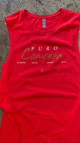 Puro Campeon sleeveless