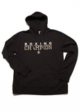 Boxing Champion French Terry Hoodie - Black