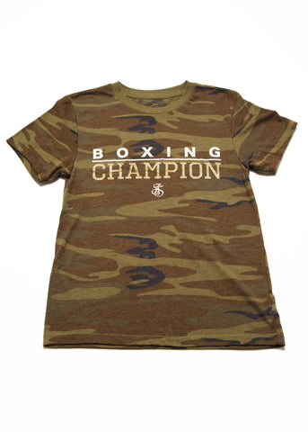Boxing Champion T-Shirt - Camo