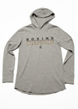 Boxing Champion Light weight thermal hoodie - Grey/Black/Gold