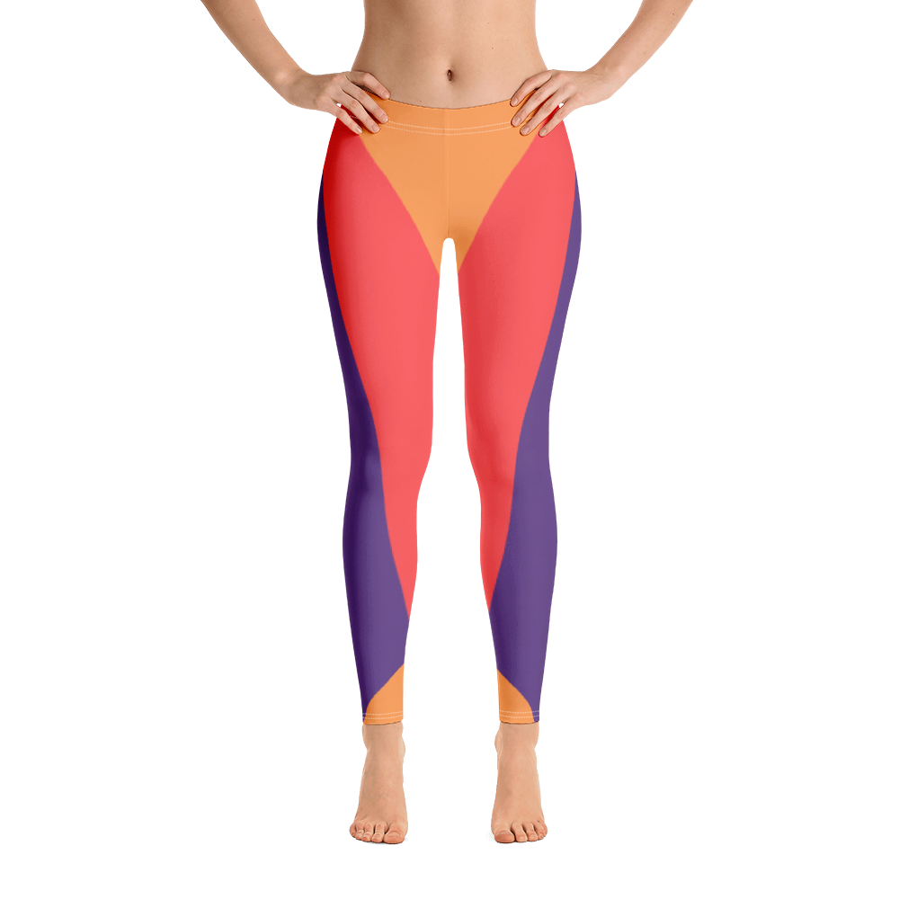 Vermilion - #5f58f2d0 - Cantaloupe Grape Grapefruit - ALTINO Leggings - Team GIRL Player - Fitness - Stop Plastic Packaging - #PlasticCops - Apparel - Accessories - Clothing For Girls - Women Pants