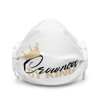 CROWNED BY KING Premium face mask