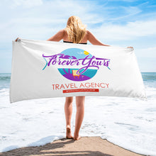 Forever Yours Travel Beach Towel