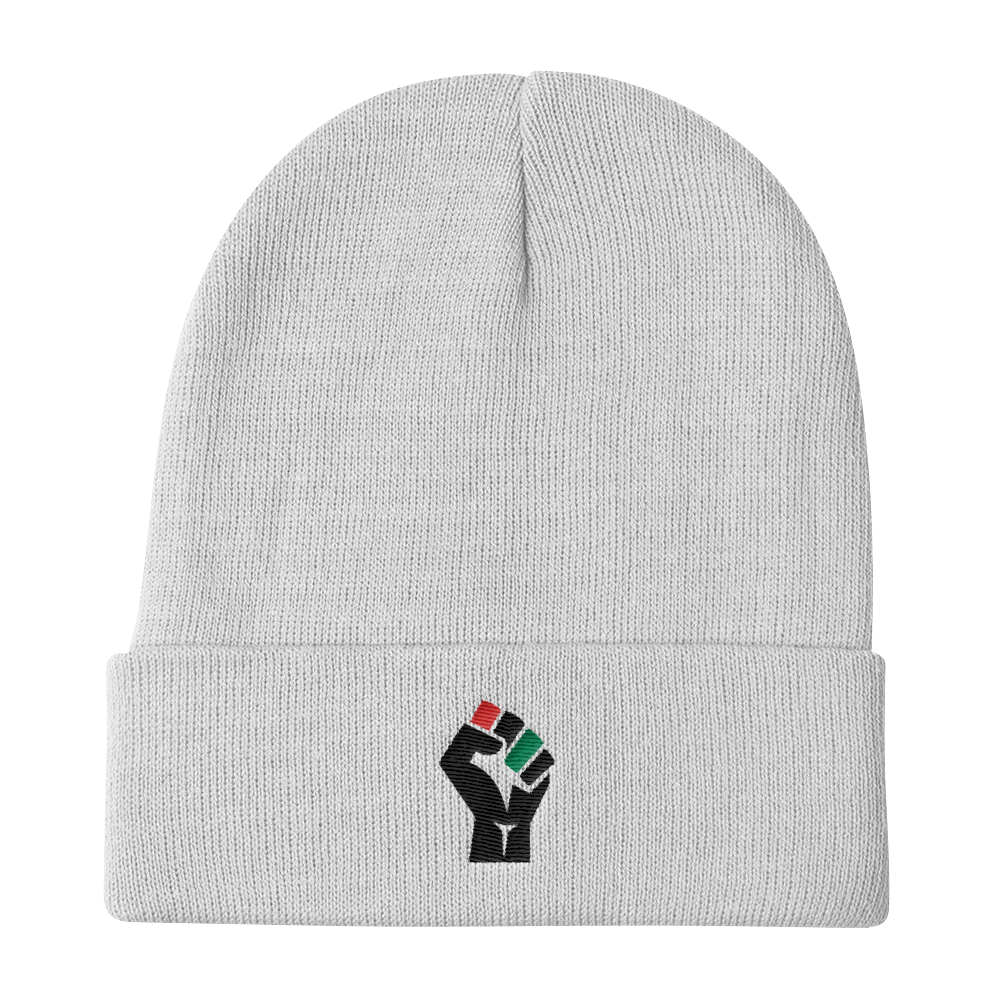 Fist Statement Knit Beanie