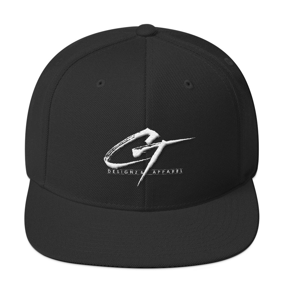 CT Designz & Apparel Wool Blend Snapback