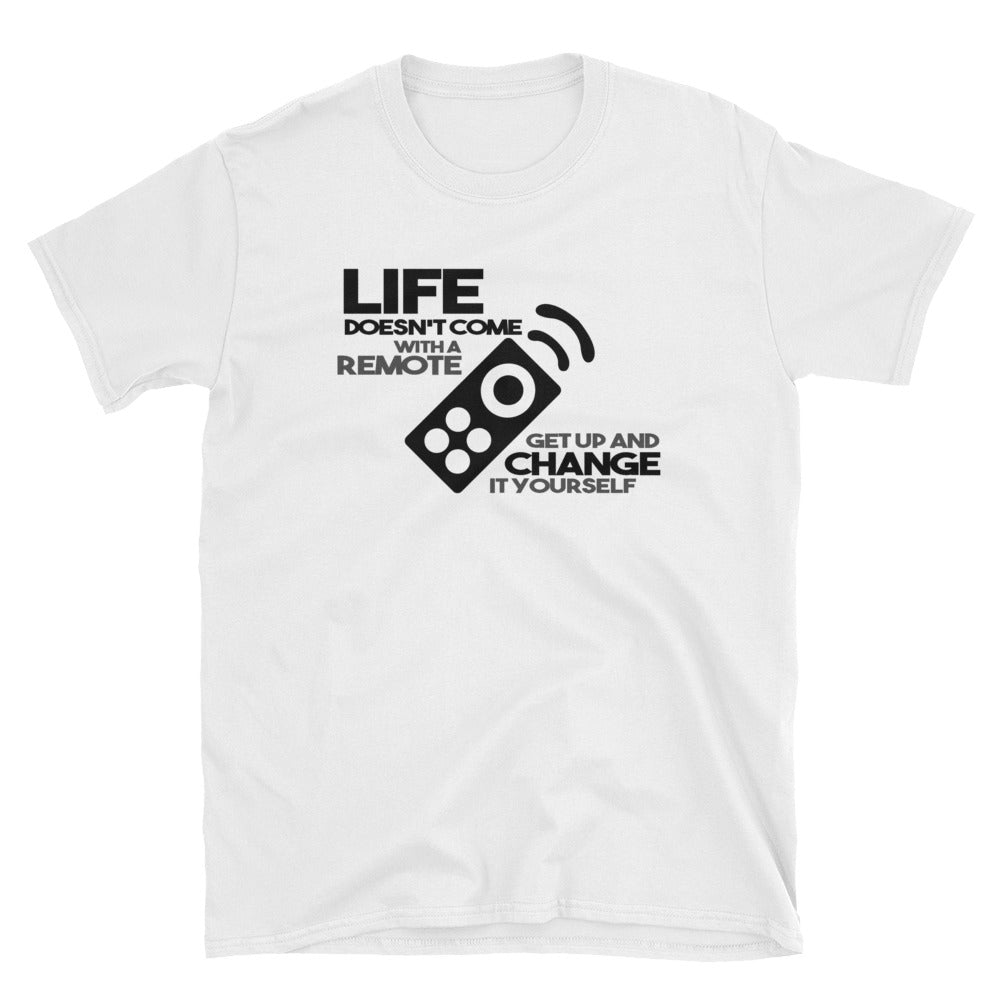 LIFE NO REMOTE Short-Sleeve Tee