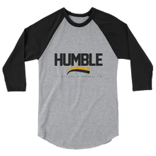 HUMBLE 3/4 sleeve raglan shirt