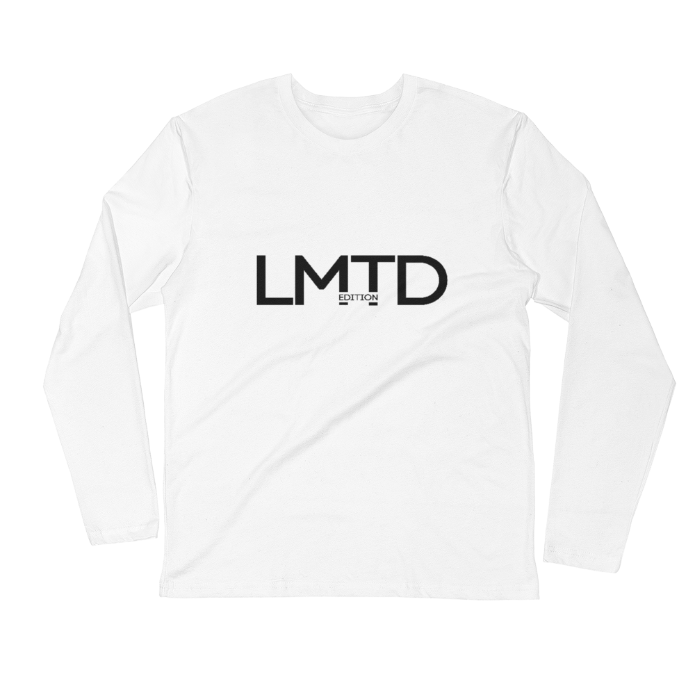 LIMITED EDITION Long Sleeve Fitted Crew