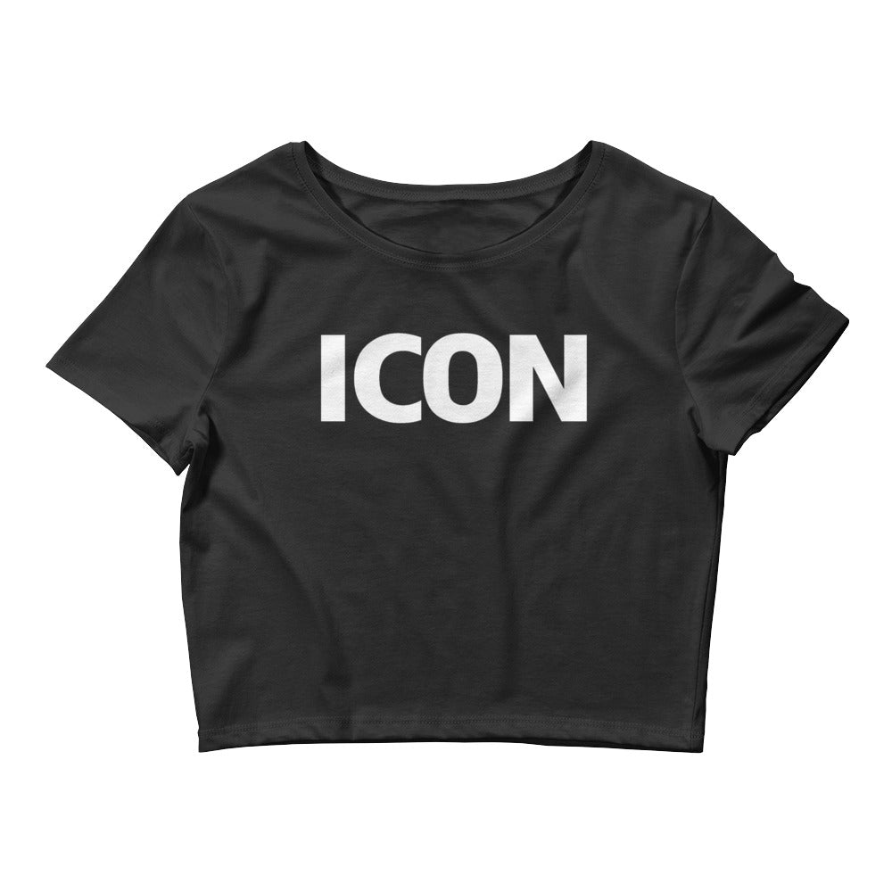ICON Women's Crop Tee