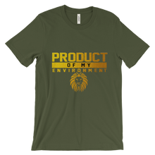 PRODUCT OF MY ENVIRONMENT Unisex short sleeve t-shirt
