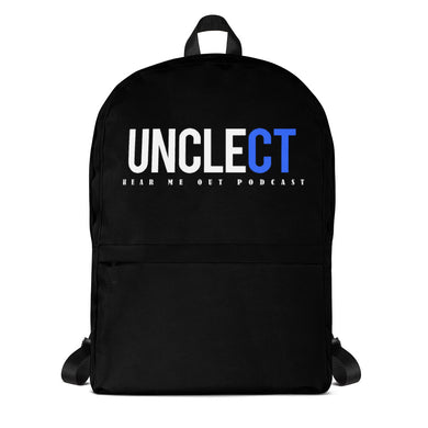 UNCLE CT Hear Me Out Podcast Backpack