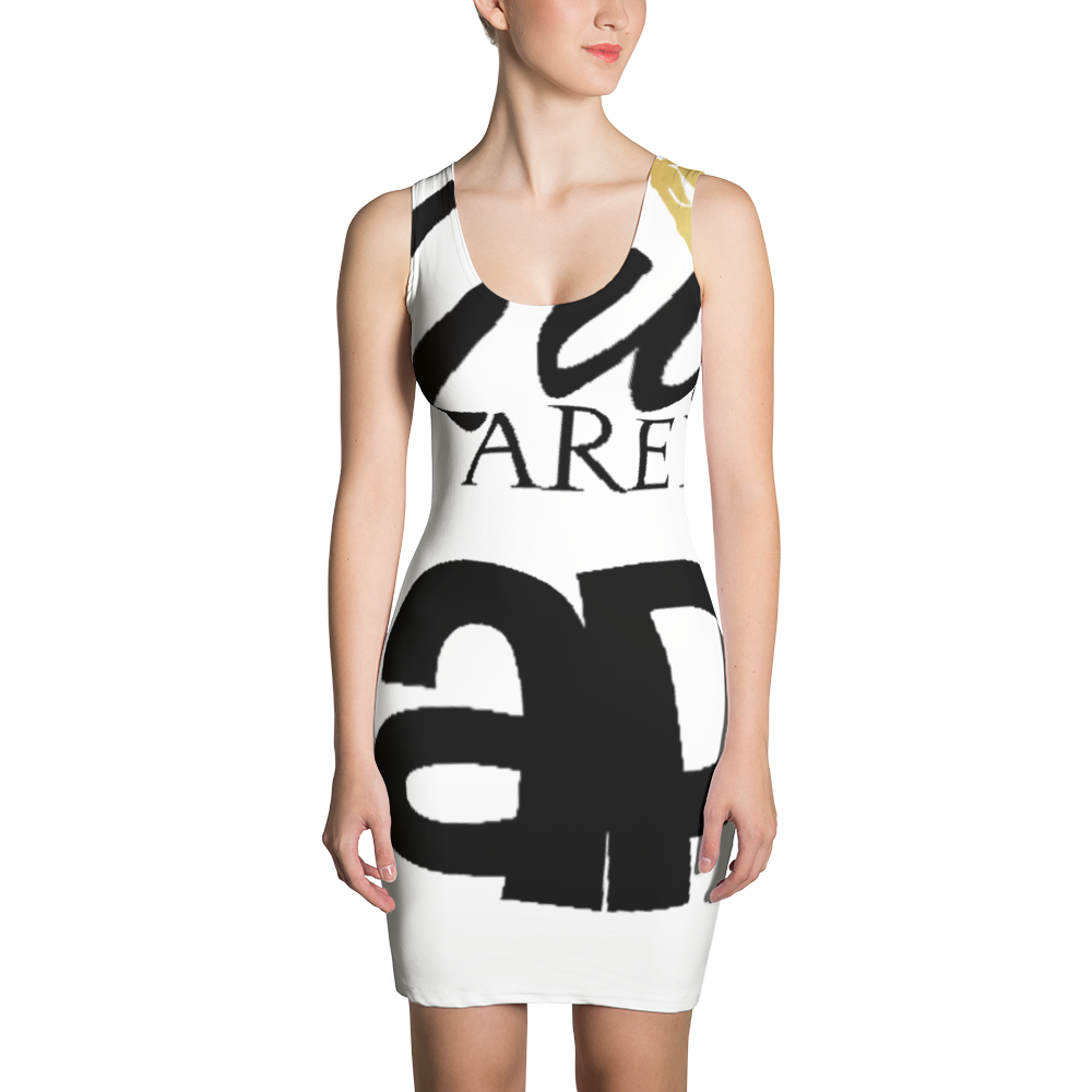 QUEENS ARE BORN IN APRIL Sublimation Cut & Sew Dress