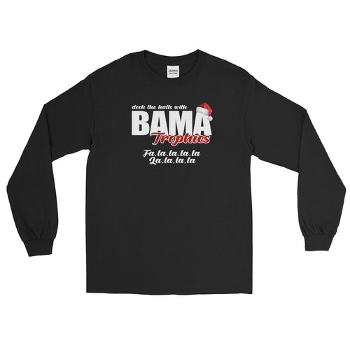 Bama Trophies Christmas Long Sleeve Shirt