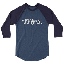 MISSES V2 3/4 sleeve raglan shirt
