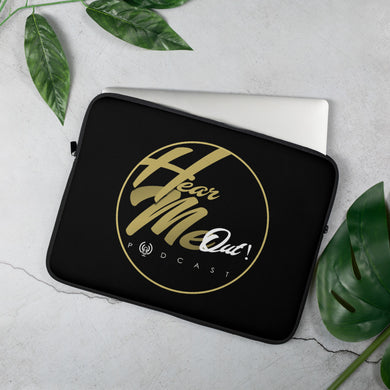 Hear Me Out Podcast Laptop Sleeve