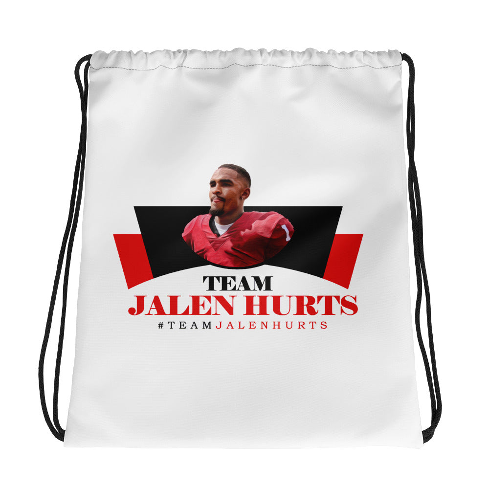 Team Jalen Hurts Drawstring bag