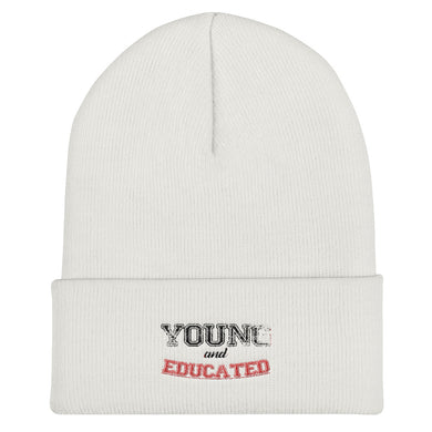 Young and Educated Cuffed Beanie