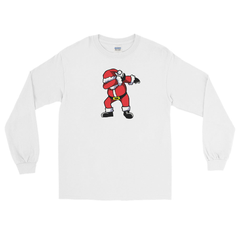 Dabbin Santa Long Sleeve Shirt