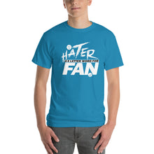HATER A 5 LETTER WORD FOR FAN
