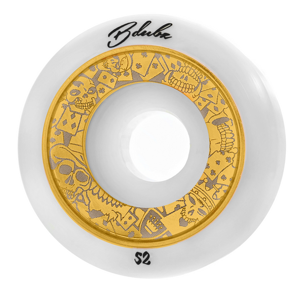 GAMBLERS - WHITE/GOLD