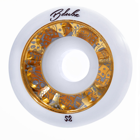 GAMBLERS BLADES - WHT/GOLD