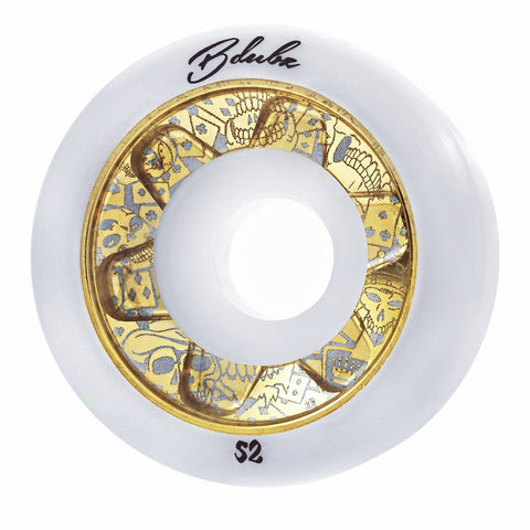 GAMBLERS STAR - WHITE/GOLD