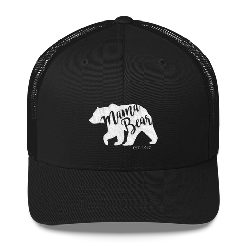 Mama Bear Personalized Year Trucker Hat