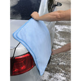 Our Drying Towel easily dries your car.