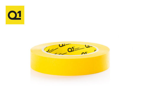 Q1 Premium Yellow Masking Tape 1.5""
